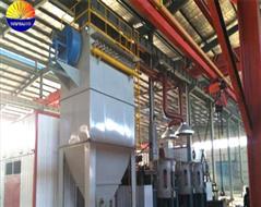 中频炉布袋除尘器-冶炼电炉除尘设备
